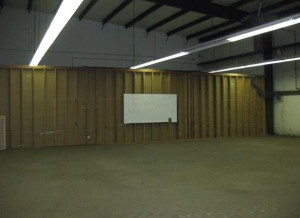 Bay No. 8, 3,290 square feet (70' x 47'), gas heat. Tenant responsible for utilities